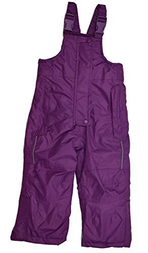 Skihose Schneehose Matschhose mit Trägern für Mädchen Lila Violett 74/80 86/92 (74/80)