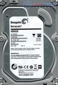 SEAGATE 1F2168-568 Details ¨¹ber ST4000DM000 F / W: CC51 P / N: 1F2168-568 4TB TK