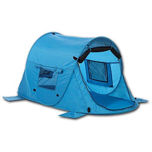Outdoorer Tente de Plage et lit Parapluie pour Enfants Zack Premium Baby UV80, à Monter, 3 fenêtres