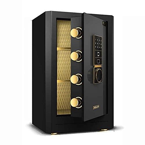 Caja fuerte electrónica, caja fuerte, caja fuerte para el hogar, caja de seguridad, caja fuerte electrónica para el hogar con huella digital mediana Caja fuerte certificada para oficina, seguro aprob