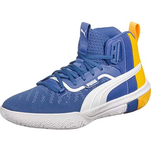 PUMA Legacy March Madness Pack Basketballschuhe Herren blau/gelb, 8.5 UK - 42.5 EU