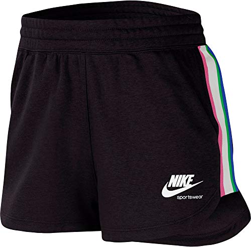 Nike Heritage - Pantaloncini da donna Nero S