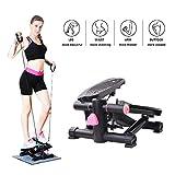 XYQCPJ Elliptical machine,Mini Fitness stepper Portable Exercise Bike Multifunction Exercise cross trainer...