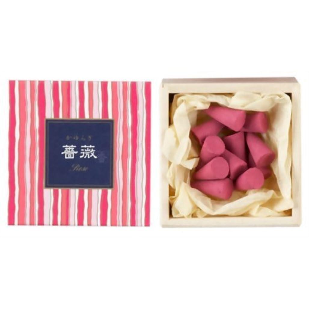 協会スポット賞かゆらぎ 薔薇(ばら) コーン12個入 香立付