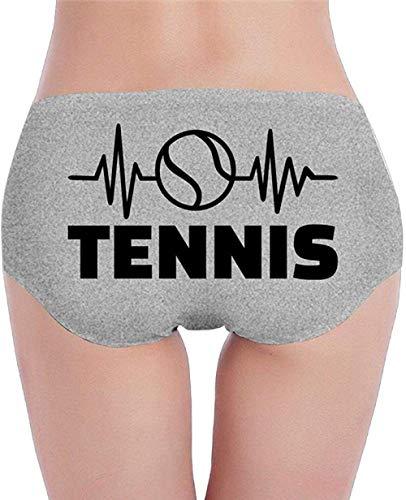 SJDWINM Ropa Interior De Algodón para Mujer Bragas Hipster Tenis Calzoncillo Transpirable-Ash_Medium