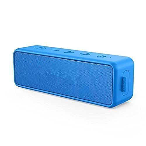 RYSF 2 Haut-parleurs sans Fil Bluetooth Portables Meilleures Basses Durée de Lecture 24 Heures sur...