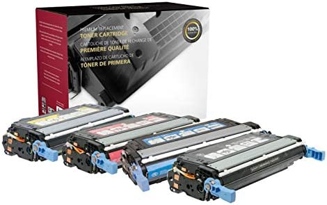 Inksters of America Remanufactured Toner Cartridge Replacements for The HP 643A Q5950A Q5951A product image
