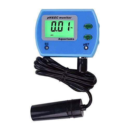 YINGGEXU Medidor de pH de Medir probador Mini 2 en 1 Herramienta de Prueba de la Calidad del Agua del probador de multiparámetro Monitor de Calidad del Agua Análisis PH TDS multiparámetro Cali