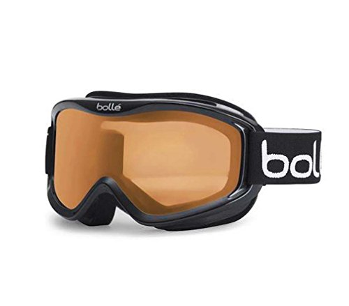 Bolle Mojo Snow Goggles (Matte Black, Citrus Lens)
