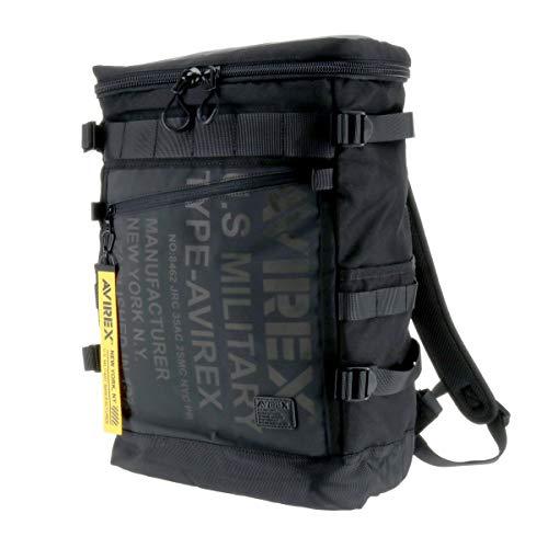 (アヴィレックス) AVIREX リュックサック デイパック バックパック ヒューズボックス 1.ブラック