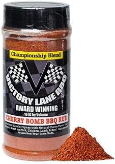 Victory Lane BBQ Cherry Bomb Dry Rub--VLBBQ 16 oz Shaker of Award-Winning & Competition Pitmaster's Recipe
