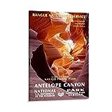 Antelope Canyon National Park Poster, Leinwand, Wandkunst,