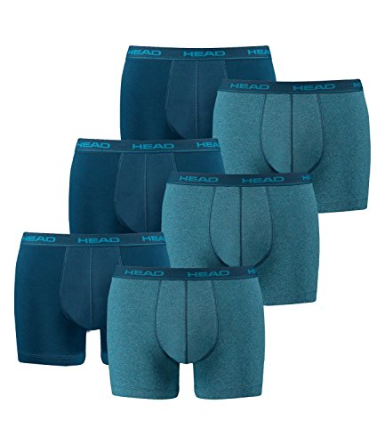 HEAD Men Boxershort 841001001 Basic Boxer 6er Pack, Blue Heaven (494), L