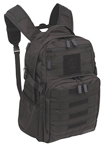 SOG YPB001 OG 008 Ninja Tactical Day Pack, 24.2-Liter Storage - Military Style - Heavy-Duty Polyester Design, Black