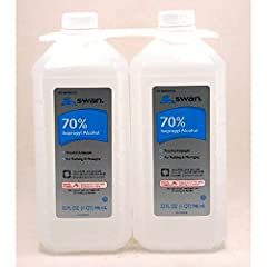 70% isopropyl alcohol For treatment of minor cuts and abrasions