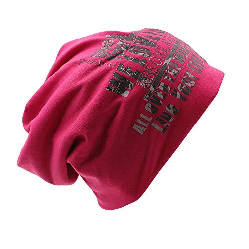 Bonnet Unisexe Chapeau tricoté Homme Beanie Hats,Femmes Chapeau Chapeau Chapeau Homme Bonnets Épais Chapeaux Chauds pour Femmes Tricot Casquette Hiver Bleu Chapeaux @ Rose Rouge