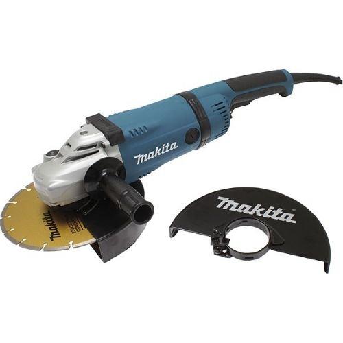 Makita GA9030KDX2 - Amoladora angular (230 mm, 2400 W, incluye 1 disco de diamante y estuche)