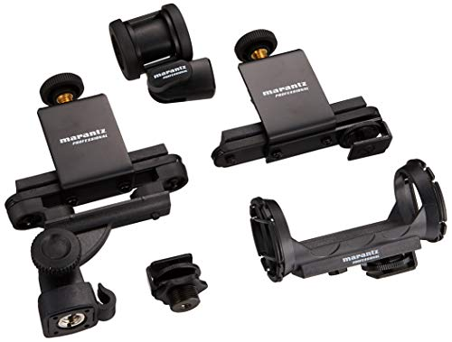 Marantz Professional Audio Scope Gear   Shotgun Mic Mounts, Suspension Clips & Gewindeeinsatz Adapter
