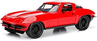 Jada Toys Fast & Furious 8 Diecast '66 Chevy Corvette Vehicle (1: 24 Scale)