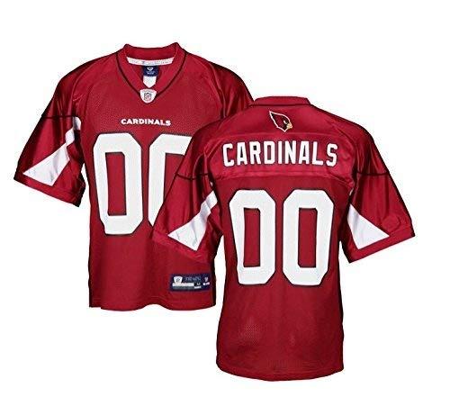 Arizona Cardinals NFL Mens Team Replica Jersey, Red (Small)
