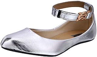 Zoya Foot Collection Presents Women'sGirlsLadies Flat Buckled Ethnic Stylish Designed Bailies Footwear |Women's Fashion Si...