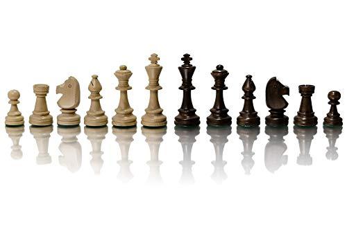 STAUNTON No.5 profesionales figuras de ajedrez de madera tabuladas