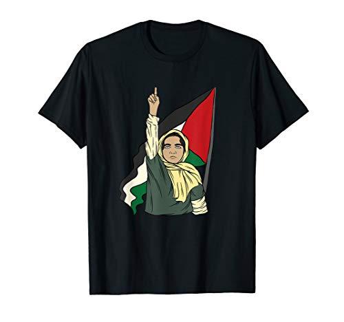 Free Palestine Palästinensische Mädchen Palästina T-Shirt