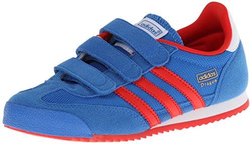 adidas Dragon CF Niños #M25194, Azul (Royal Blue/White/Grn), 34 EU