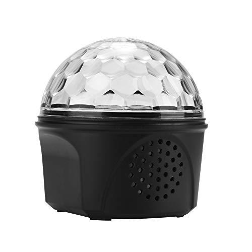 Houkiper podium nachtlampje, bluetooth led Magic Ball sfeerlicht bonte strobe nachtlampje USB oplaadbaar
