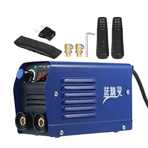Kecheer Soldador inverter mini,Soldador de arco Inversor electrico IGBT digital,Mini soldadora eléctrica portátil