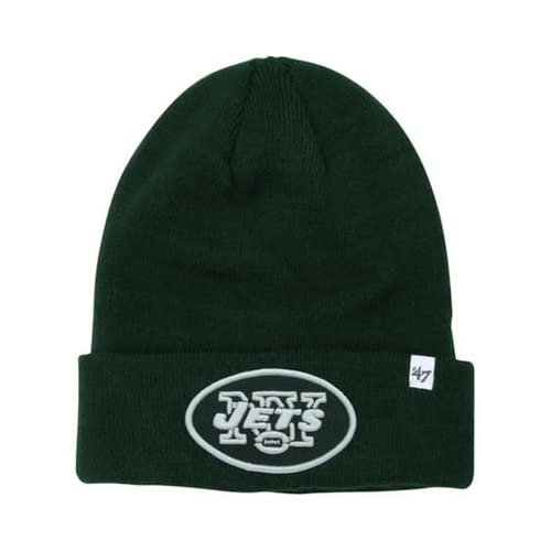 new style d8a80 49ccc  47 Brand Team Color Cuff Beanie Hat - NFL Cuffed Football Winter Knit  Toque Cap.