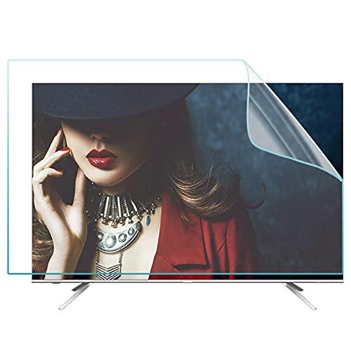 WUK Protector Protector de Pantalla de TV de 39-60 Pulgadas, luz Anti-Azul para LCD, película de Pantalla Curva/Recta, antideslumbrante, Evita la miopía, Alivia la Fatiga Ocular
