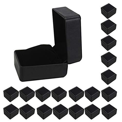 Abbraccia 20x Leather Single Watch Display Box Premium Cushion Bangle Jewelry Storage