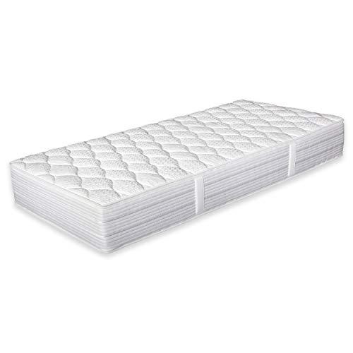 OrthoMatra KS 7.0 Kaltschaummatratze Betten-ABC® mit Waterlily®Auflage und Hybrid Sky-Kern Größe 200x220, Farbe H3