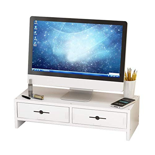 unknow Monitorständer, Storage Rack Office Desktop Tastatur Storage Storage Shelf Display-Hubgerüst Desktop-Computer-Bildschirm-Halter