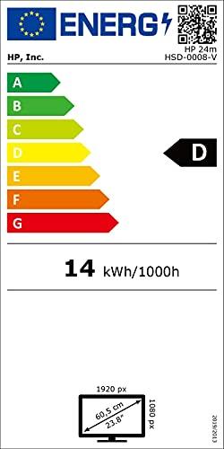 HP 24m 60,45 cm (23,8 Zoll / FHD IPS) Monitor (HDMI, VGA, 60 Hz, 5ms Reaktionszeit, 1920×1080) schwarz - 10