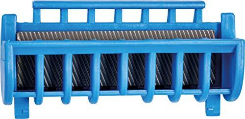 PFERD Universal-Kantenfeile, rechteckig, in spezieller Kunststoffhalterung, Länge 130mm, zweiseitig schrägverzahnt, 13217110 – für einfaches Instandsetzen der Führungsschienen von Motorsägen