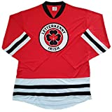 LETTERKENNY Irish TV Series Hockey Jersey. New! - Your Name & Number on Back. (Large) Red