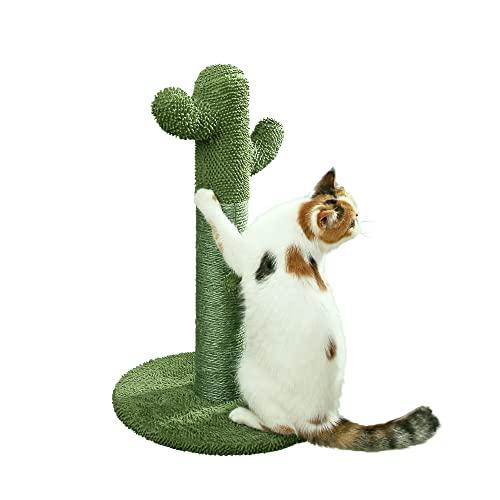PETNPURR CAT SCRATCHING POST WITH TEASER BALL
