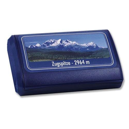 Pöschl Nachfüllbox aus Kunststoff mit Zugspitzenmotiv 15 g