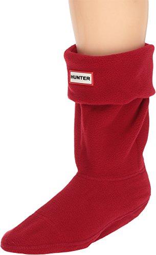 Calcetines Hunter cortos de forro polar Military Red Medium