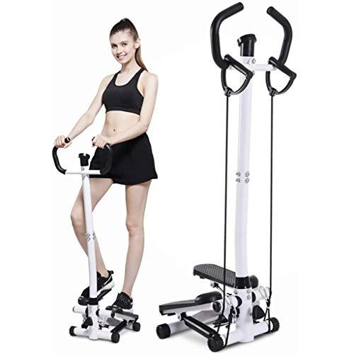 HYJBGGH Máquinas de Step Stepper Fitness Mini Stepper Aerobic con Asas...