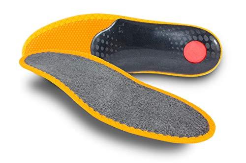 Pedag Sneaker Magic Step Orthopädische Einlegesohle, Grau (Grey), 39 EU