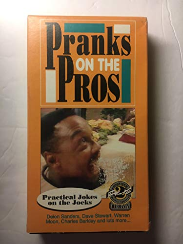 Pranks on the Pros - Practical Jokes on the Jocks (VHS)