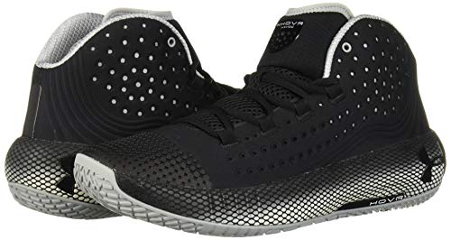 Under Armour Men's HOVR Havoc 2 Basketball Shoe, Black (002)/White, 11.5