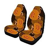 MOLLUDY Vordersitzbezüge 2-tlg, Vollständiger Sitzschutz, Vordersitzkissen für Haustiere, die im Fitnessstudio laufen