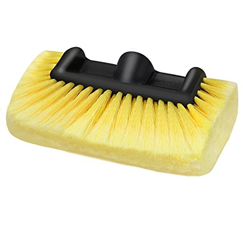 MOFEEZ Pro Car RV Marine Household Soft Detailing Bristle Scrub Brush 10'