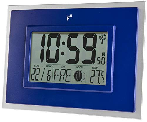 Tiempo de Bar Radio Reloj de Pared/–Tischuhr + Indicador de Temperatura