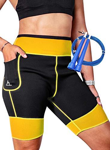 EDM - Pantalones Sauna para Mujer - Pantalones Neopreno Térmicos - Pantalón de Sudoración -...