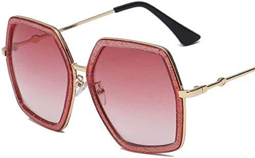 NIUASH Gafas de Sol polarizadas Gafas de Sol cuadradas para Mujer Gafas de Sol de Montura Grande Retro Vintage para Mujer Gafas de Sol para Mujer Sombras-4